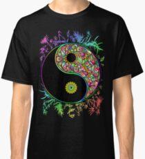 Yin Yang Bamboo Psychedelic Classic T-Shirt