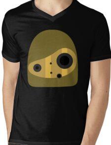 Laputa- Robot Head Vector Mens V-Neck T-Shirt