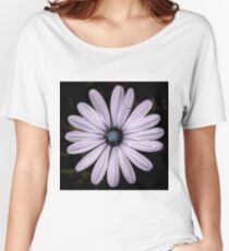 Daisy Mauve Women's Relaxed Fit T-Shirt