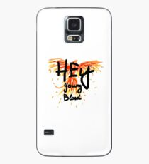 "Phoenix- Fall Out Boy ""Hey Young Blood"" Design  Case/Skin for Samsung Galaxy"