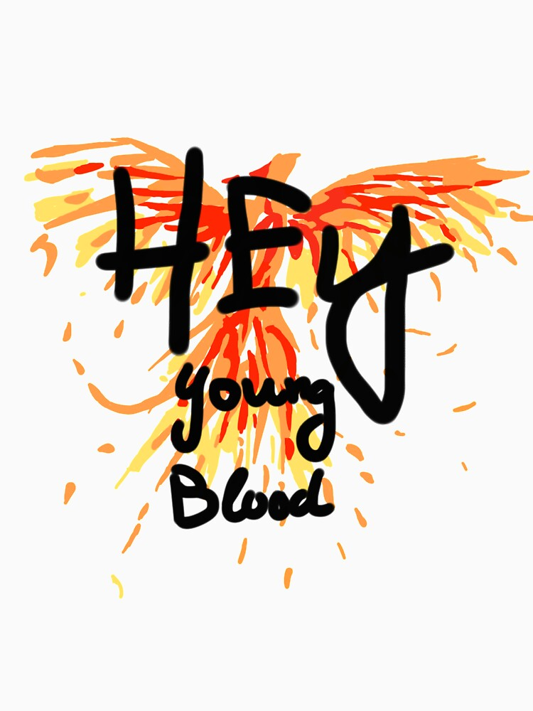 "Phoenix - Fall Out Boy ""Hey Young Blood"" Diseño de PlatypusDoodles"