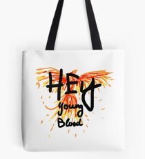"Phoenix - Fall Out Boy ""Hey Junge Blut"" Design Tote Bag"