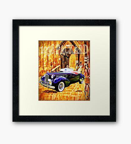 1938 Packard Framed Print