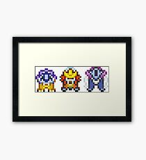 Legendary beasts 16 bit Framed Print