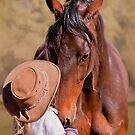 Gentle Giant - Horse and Child by Michelle Wrighton