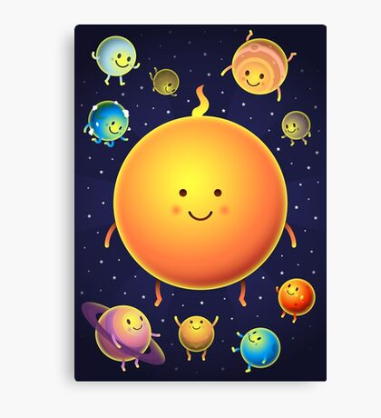 Space Friends Canvas Print