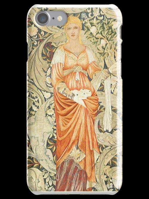 William Morris Floral Pattern by cinn