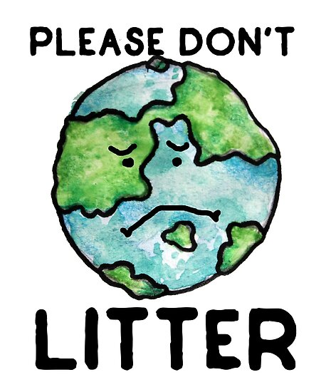 Image result for dont litter image