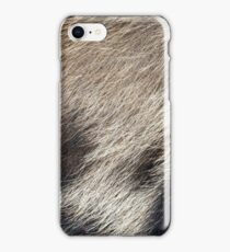 Pig Skin Hair iPhone Case/Skin