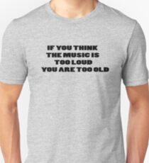 Funny Music Party T-Shirt Unisex T-Shirt