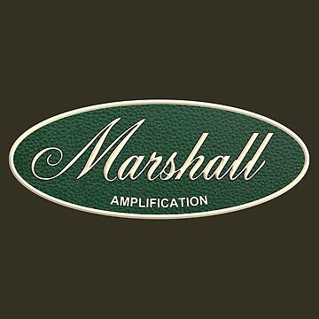 Marshall Amplification Oval by siban