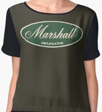 Marshall Amplification Oval Women's Chiffon Top