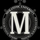 Miskatonic University - Per Sacrificium, Cognitio (Dark) by Todd3point0