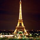 Eiffel Tower in Color by cinn