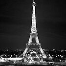 Eiffel Tower At Night by cinn