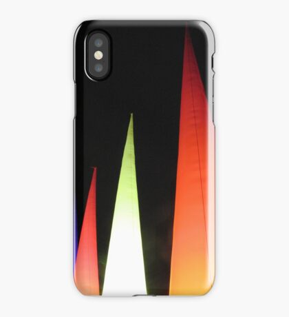 Coloured cones iPhone Case/Skin