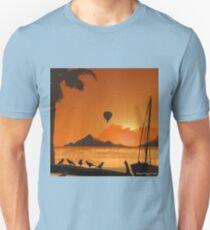 Tahiti Island Balloon Rides Unisex T-Shirt