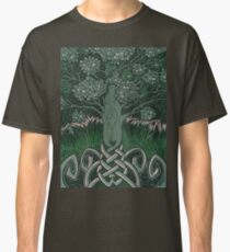 Tree of cognizance - acrylic on board Classic T-Shirt