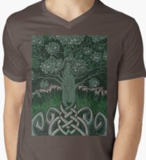 Tree of cognizance - acrylic on board T-Shirt