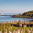 Port Ellen Lighthouse and Kilnaughton Chapel Cemetry by Kasia-D