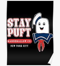 Stay Puft Marshmallow Poster
