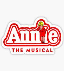 Annie the Musical Sticker