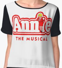 Annie the Musical Women's Chiffon Top
