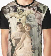 Pierrot Collage Graphic T-Shirt