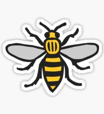Manchester Bee, Classic Edition Sticker