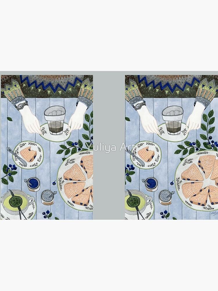 Blaubeer Scones von Yuliyart