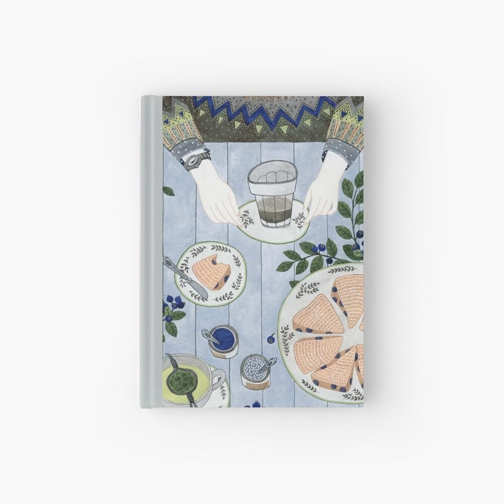Blaubeer Scones Notizbuch