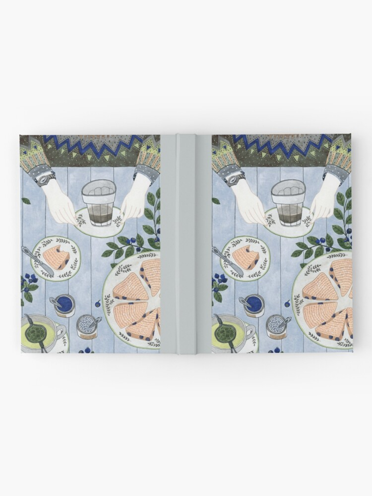 Alternative Ansicht von Blaubeer Scones Notizbuch