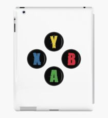 X Box Buttons - Grunge Style iPad Case/Skin