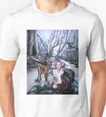 brother and sister steampunk art T-Shirt