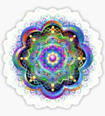 Mandala Universe Psychédélique Sticker