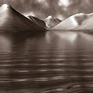 Wastwater Abstract Art by Steven  Lee