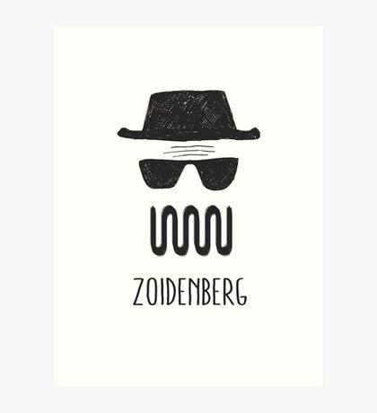 ZOIDENBERG Art Print