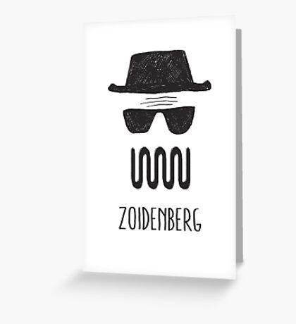 ZOIDENBERG Greeting Card