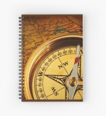Compass for a captain Spiral Notebook