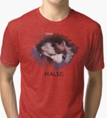 Malec - Shadowhunters - Canvas Tri-blend T-Shirt