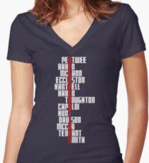 Regenerations (Dark Clothing Version) Women's Fitted V-Neck T-Shirt