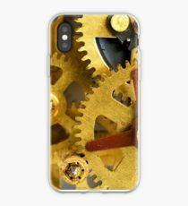 Golden gears iPhone Case