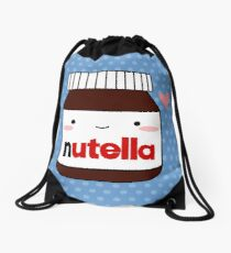 Cute Nutella jar Drawstring Bag
