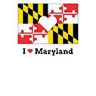 I Heart Maryland by Melanie St. Clair