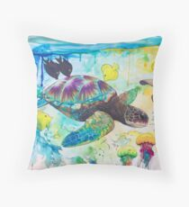 Enchanted Sea  Throw Pillow