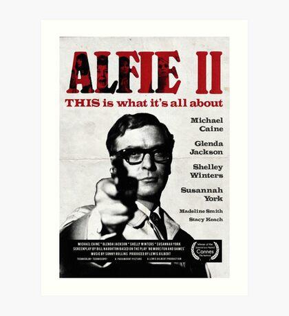 Alfie 2 Art Print