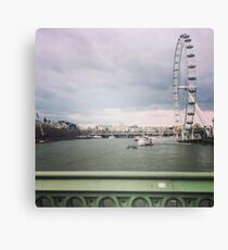 London Thames Overlook Canvas Print