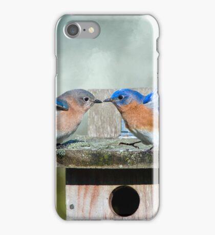 Bluebird Disco iPhone Case/Skin