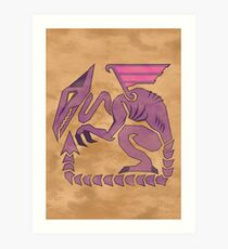 Metroid Hunter Series: Ridley Art Print