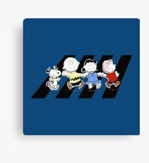 Peanuts Gang Canvas Print